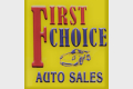 First Choice Auto LLC Logo